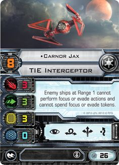 Carnor Jax Card