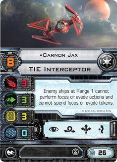 Carnor Jax Card