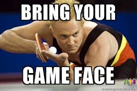 game face