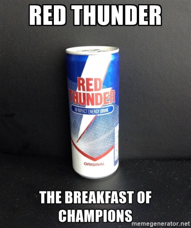 red thunder champion