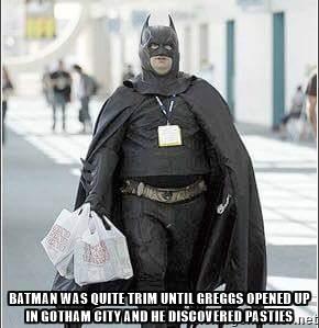 greggs batman 2