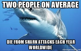 shark average