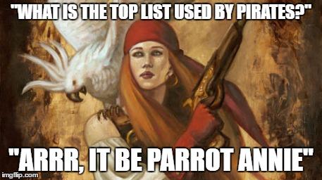 parrot annie meme