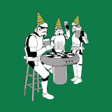 storm troopers party