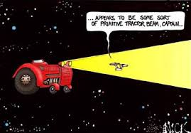 tractor beam meme