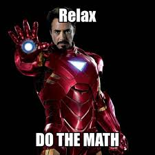 Iron Man math