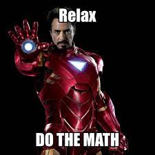 Iron Man math