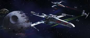 x wing battle